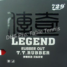 RITC 729 Friendship LEGEND medium pips-out table tennis pingpong rubber with sponge