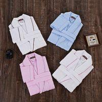 Men Bathrobe Cotton Plus Size Men Bath Robe Gown Brand Pajamas Cotton Terry Toweling Long Soft