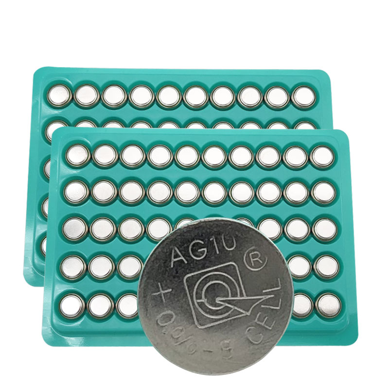 50 x <font><b>AG10</b></font> Button <font><b>Batteries</b></font> LR1130 1130 SR1130 389A LR54 L1131 189 389A 75mAh Capacity <font><b>1.5V</b></font> Button <font><b>Battery</b></font> image
