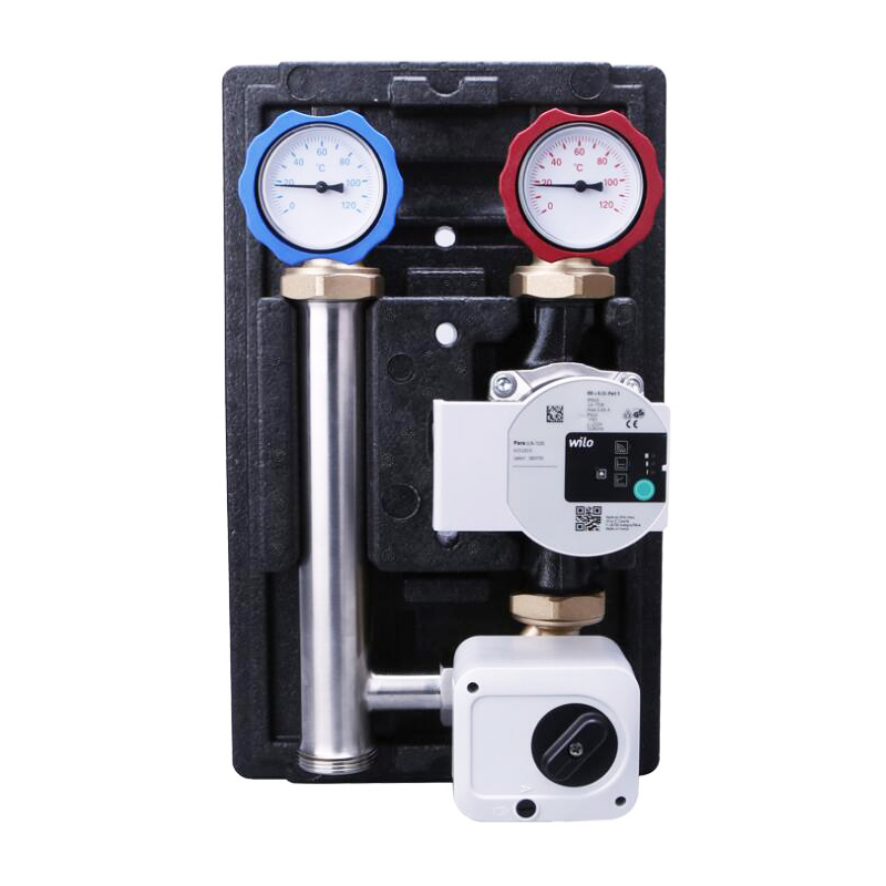 Geothermal Water Mixing Center Intelligent Energy-Saving Water-Saving Mixed Water Home Floor Heating Pump System