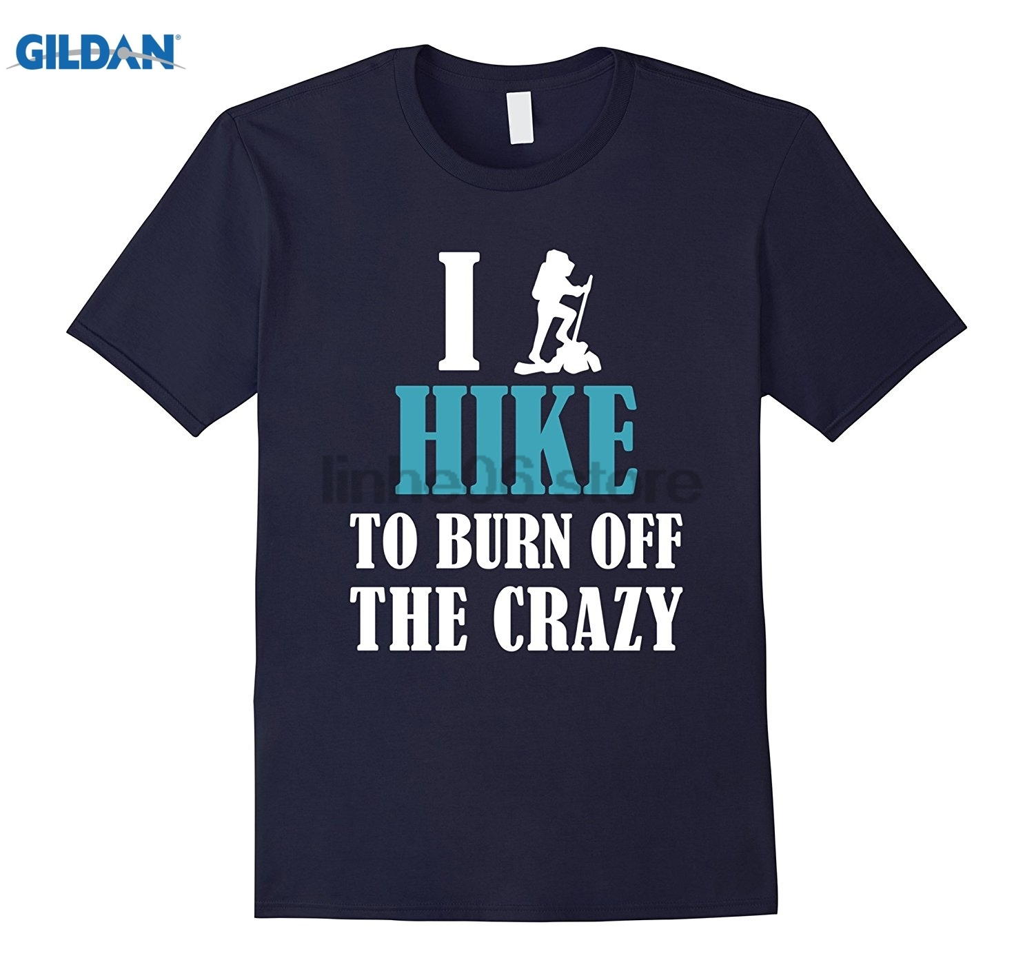 GILDAN shirt - I to burn off the crazy GILDAN 100% Pure cotton O signage flower item til ...