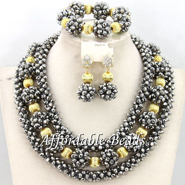 Famous African Necklace Sets Nice Wedding Jewelry Set Popular Style Wholesale Free Shipping BN348Famous African Necklace Sets Nice Wedding Jewelry Set Popular Style Wholesale Free Shipping BN348