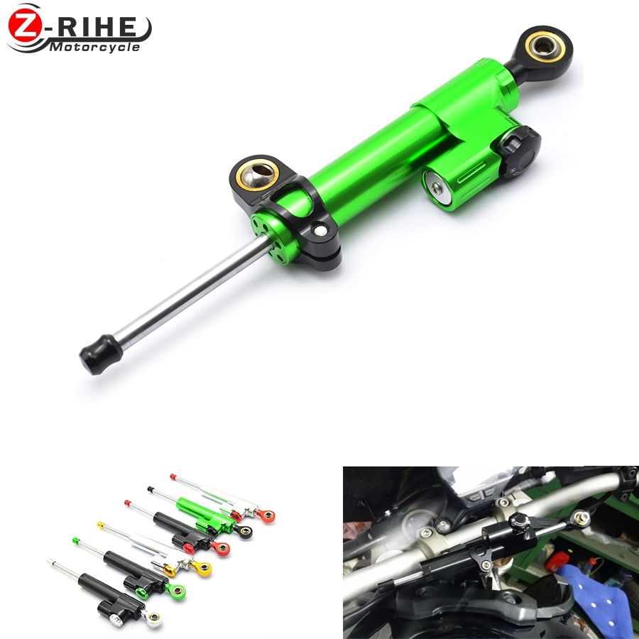 Motorcycle Accessories Damper Stabilizer Damper Steering Reversed Safety Control For Kawasaki NINJA 250 300 650 ZX6R Z1000SX H2