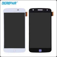 Motorola Moto Droid XT1635 Z Oyna Için beyaz Siyah LCD Ekran Dokunmatik Ekran Digitizer Tam Meclisi Ücretsiz Nakliye + Izleme hiçbir