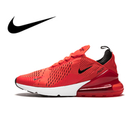 Original authentic Nike Air Max 270 men's running shoes classic red outdoor sports shoes comfortable and breathable AH8050 601