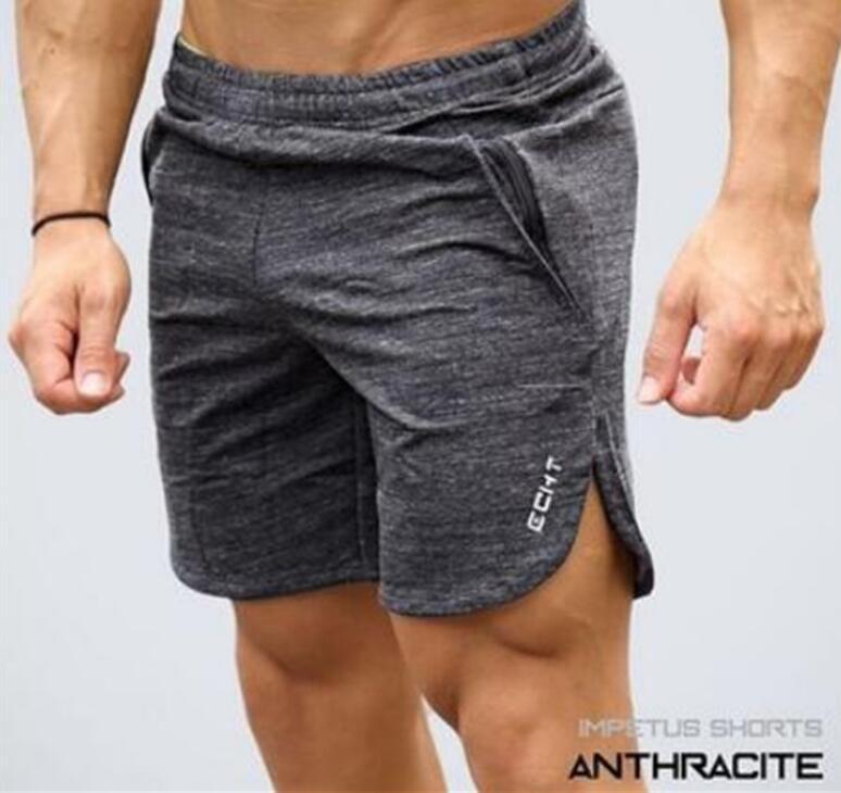2018 Mens ECHT Sporting Beaching Shorts Cotton Bodybuilding Sweatpants Fitness Short Jogger Casual Gyms Men Shorts