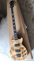 New Arrival 4 string electric bass guitar In Natural 170625