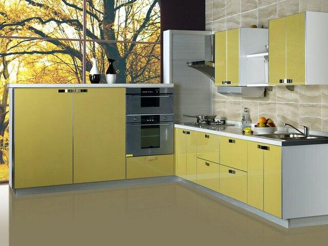 Geel De Keuken : Hoogglans geel keuken meubels in hoogglans geel keuken meubels van
