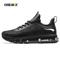 ONEMIX Men Runing shoes Winter KPU Mesh Air Sole Outdoor Designer Athletic Trainers Sports Shoe For Young Women Walking Sneakers