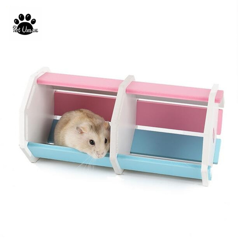 Foldable hamster cage hamster house pet bed small pets for Discount guinea pig supplies