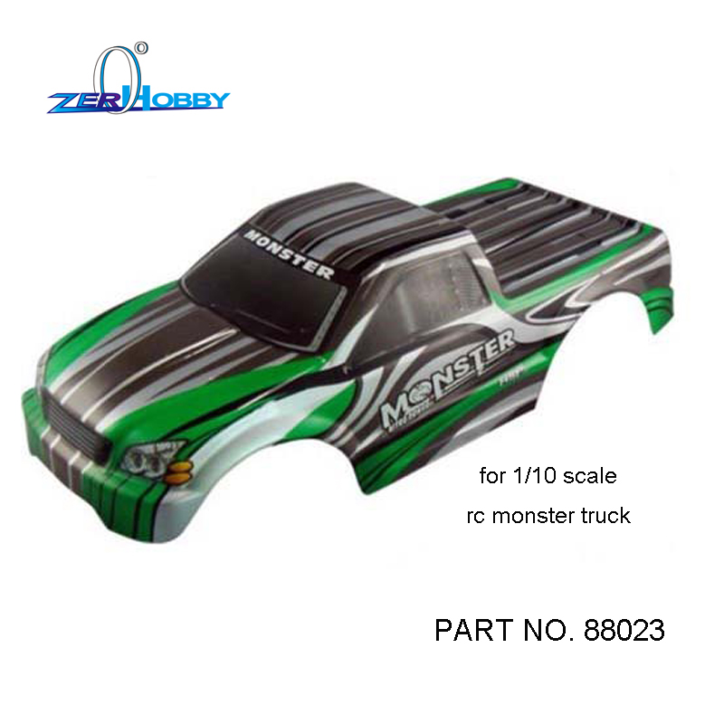 RC CAR TOYS SPARE PARTS BODY SHELL FOR HSP MODEL 94108, 94188, 94111, 94211 (part no. 88023)