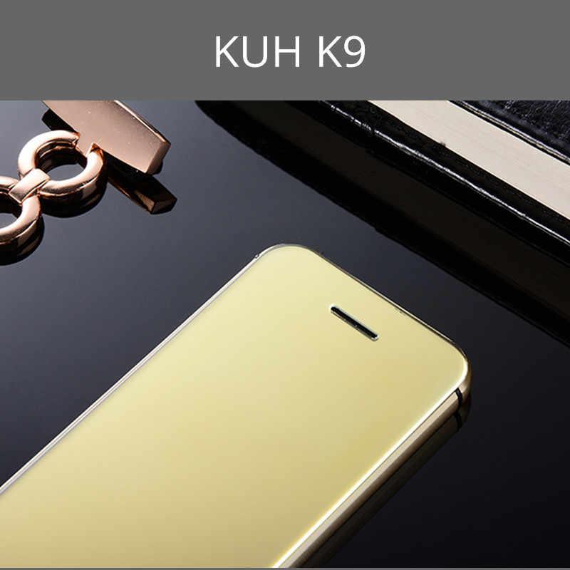 Teléfono móvil Original de lujo KUH K9 Super Mini tarjeta ultrafina con teléfono móvil MP3 Bluetooth de 1,54 pulgadas a prueba de polvo a prueba de golpes