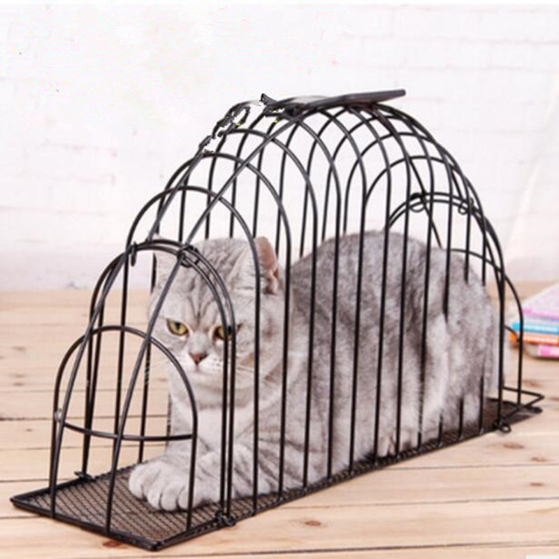 Предотвратить кусаться Портативный Большой профессиональные кошка купальный клетка зоото ...