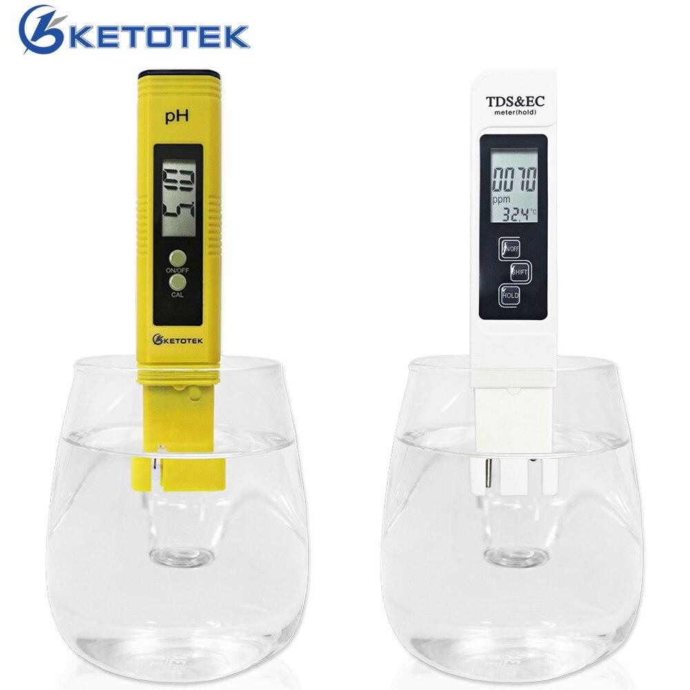 Medidor de PH 0,00-14.0PH ATC función 3 en 1 agua TDS y CE medidor probador de la temperatura 0-9999us/cm 0-9999ppm 0,1-80.0C