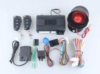 Version universelle 1 voies système d'alarme de voiture à distance moteur start stop fonction choc déclenchement d'alarme puissance fenêtre clé de rechange lame