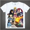 Novas Camisas Da Forma T Tee Homens Camisa Japonês Famoso Anime Camiseta Fairy Tail Engraçado T-shirt de Manga Curta Mens Roupas 06