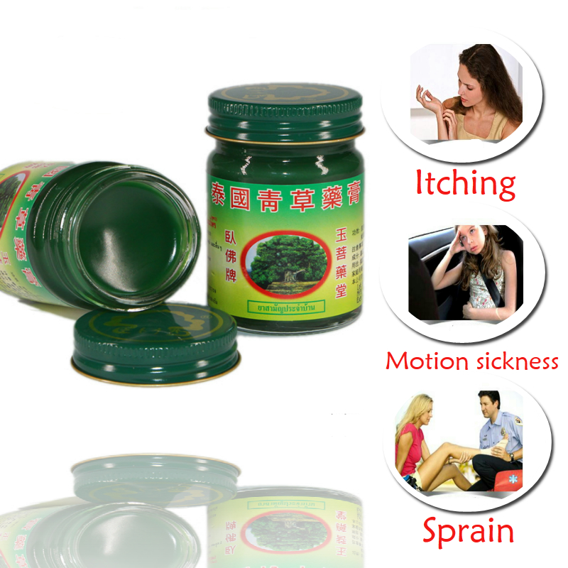 New Arrival Thailand 1 Pc Tiger Thai Herbal Balm pain Ointment refresh Oneself Influenza Cold Headache Dizziness Summer Mosquito браслеты element47 by jv f3zn0267 bt 002 wg