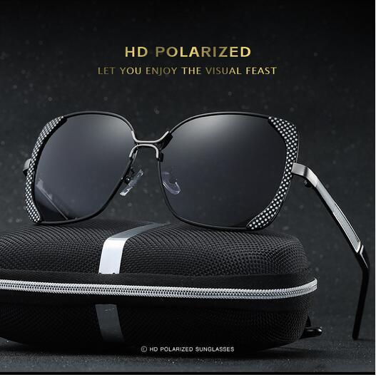 Female polarized elegant butterfly brand designer lady polarized sunglasses female Oculos De Sol KINGSEVEN shadow s'40 1