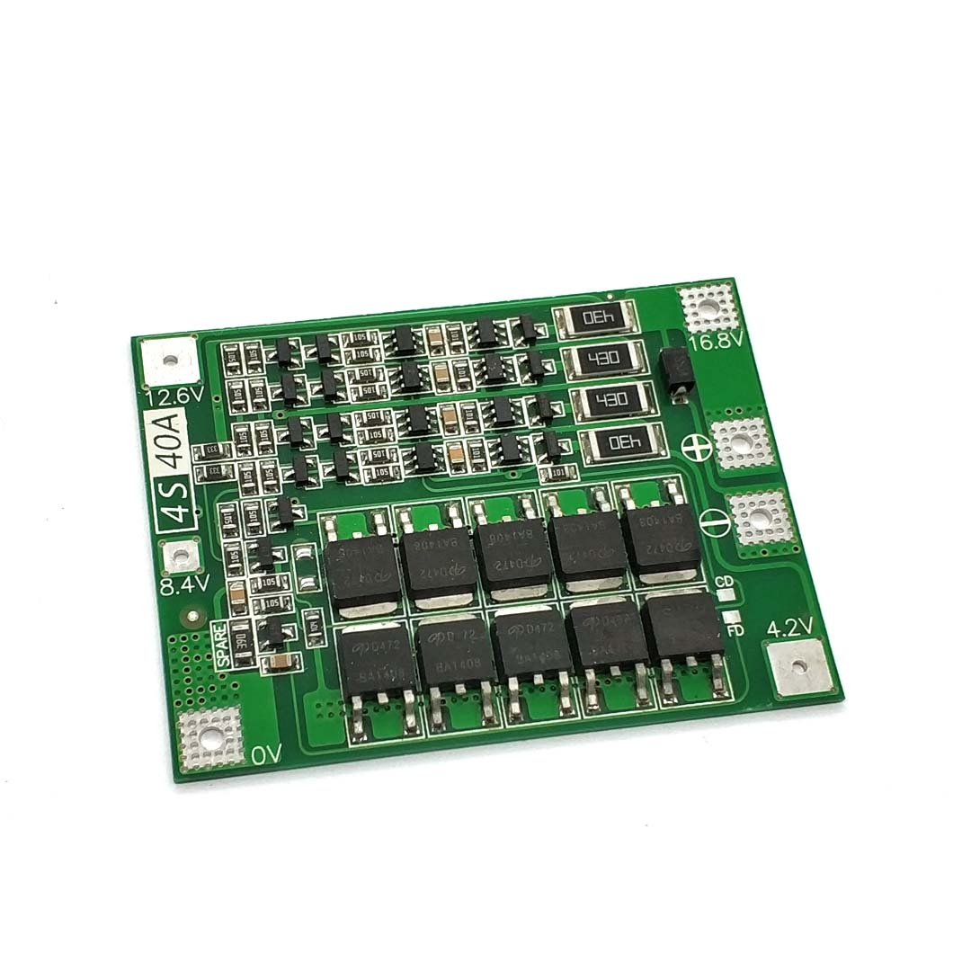 Pcb-Bms-Protection-Board Drill-Motor Balance Lithium-Battery 4s 40a 18650 Charger Li-Ion title=