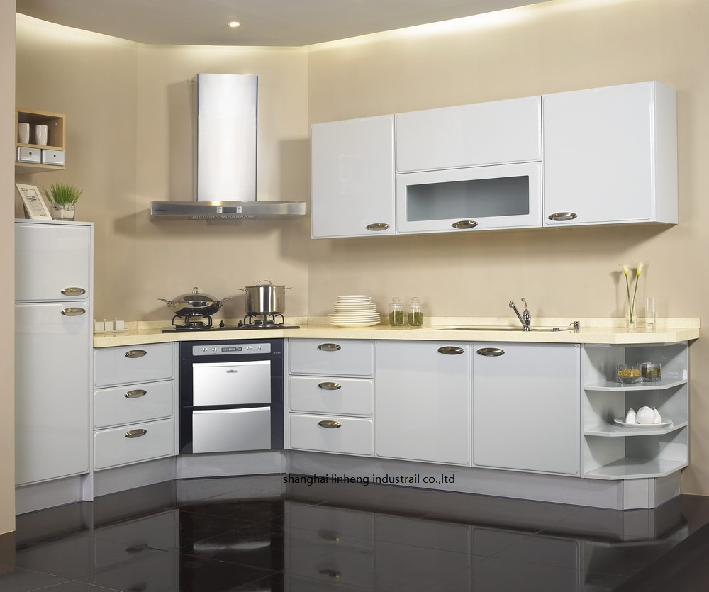 High gloss/lacquer kitchen cabinet mordern(LH-LA089) high gloss lacquer kitchen cabinet mordern lh la095