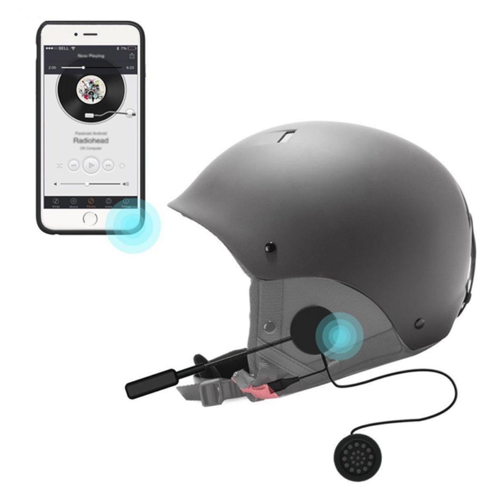 Bluetooth Intercom For Helmet Anti-interference Headset For Motorcycle Helmet Riding HandsFree Headphone MP3 MP4 Smartphone