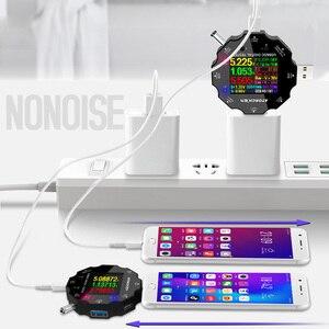 Image 5 - UD18 Voor App Usb 3.0 Type C Pd DC5.5 5521 Voltmeter Ampèremeter Voltage Current Meter Batterij Meten Kabel weerstand Tester