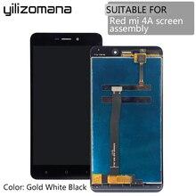 YILIZOMANA сенсорный экран панель с рамкой для Xiaomi Redmi Hongmi 4A ЖК-дисплей дигитайзер сборка Замена+ Инструменты
