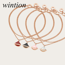 Wintion BGL ceramics bracelet 1:1 Original 100% 925 Sterling Silver Women Free Shipping Jewelry High-end Quality Gift Have logo