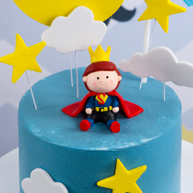 Little Prince Cake Topper Dessert Decoration for Baby ...