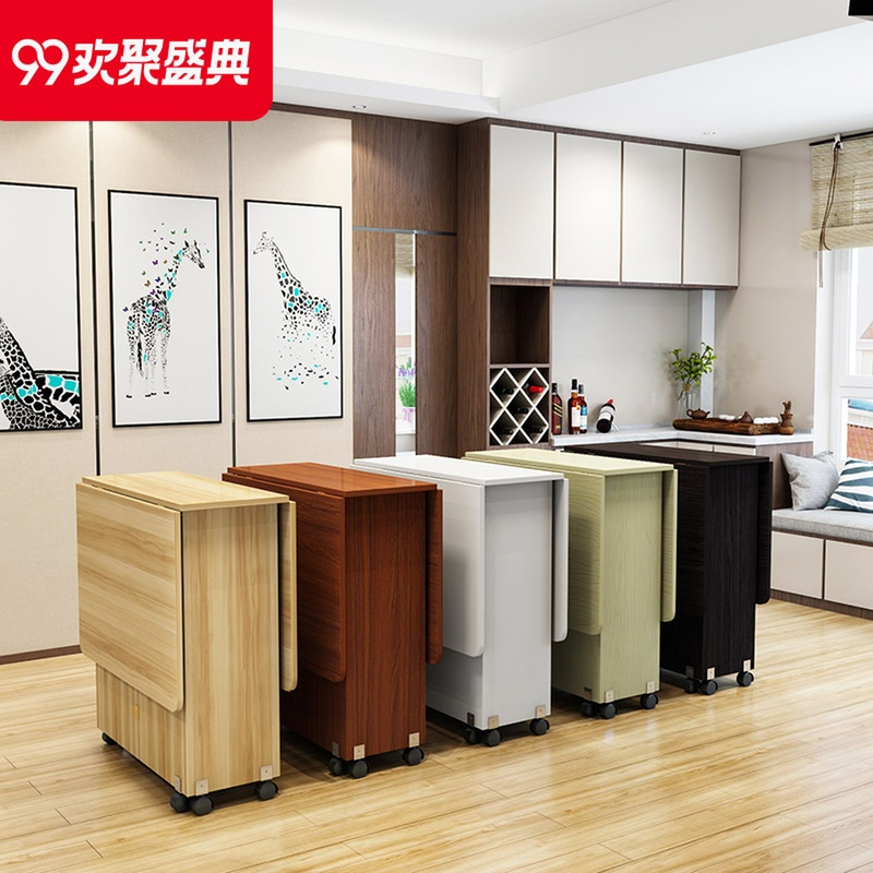 Small Apartment With Foldaway Features: Table Folding Table Home Small Apartment Rectangular