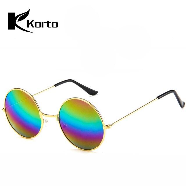 2b38b88005 Retro 80S 90S Round Sunglasses Women Brand Designer Men Vintage 70S Hippie  Sun Glasses Eyewear Steampunk 2018 Oculos De Sol