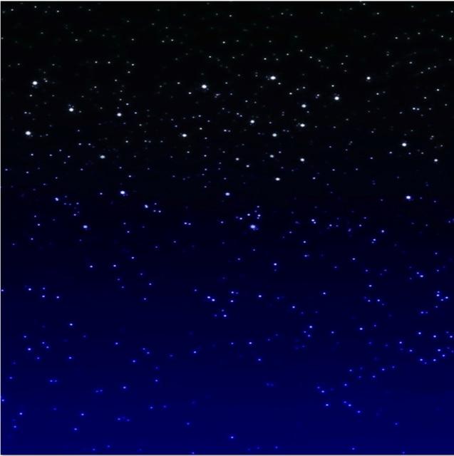 8x8ft Dark Blue Starry Night Sky Space Custom Photo Studio