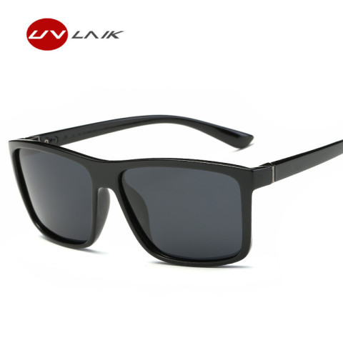 UVLAIK Men Polarized Sunglasses Brand Vintage Square Driving Movement Sun Glasses Men Driver Safety Protect UV400 Eyeglasses Islamabad