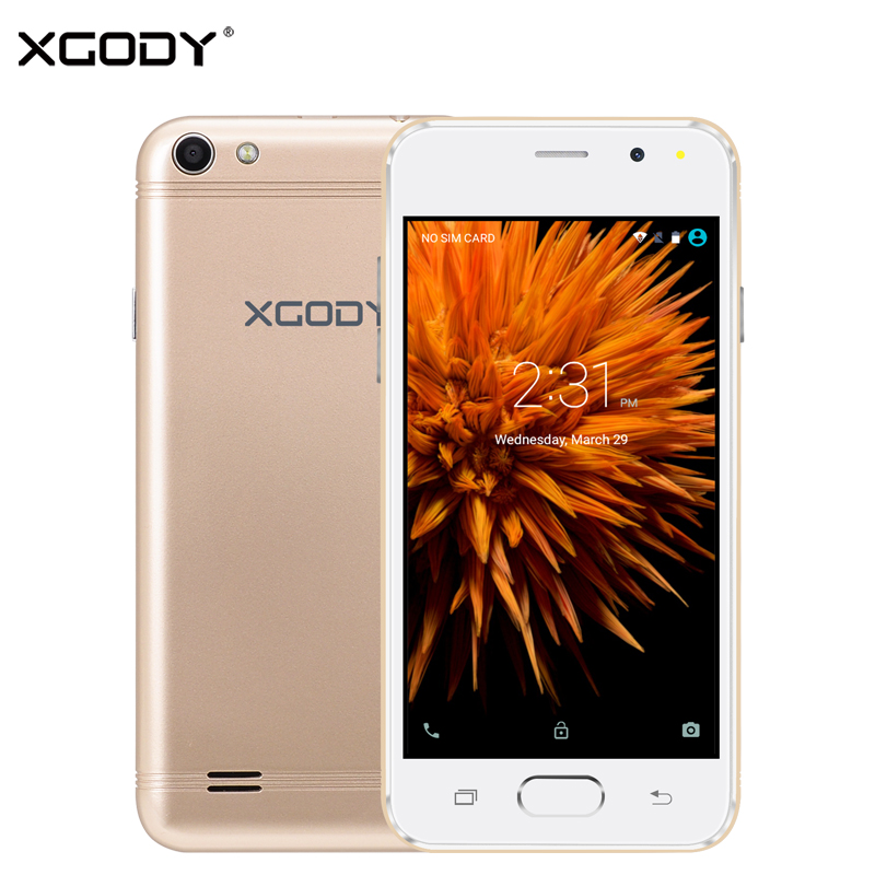 XGODY G11 3G 4 5 Inch Smartphone Android 5 1 MT6580 Quad Core 768MB RAM 8GB