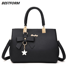 BESTFORM 2019 Bag For Women Flower Female Handbag Designers Large Capacity Ladies Shoulder Bags Leather Handbags Messenger