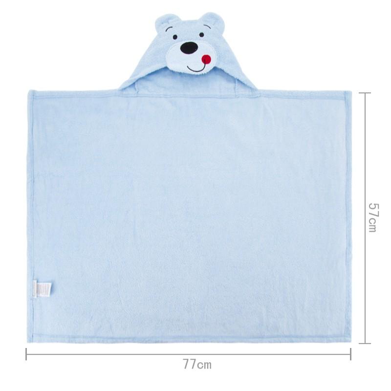 1 Piece Baby Kids Hooded Bath Towel Cartoon Baby Bathrobe Fashion Designs Hooded Animal Modeling Infant Bathrobe Kids Bath Robe (6)