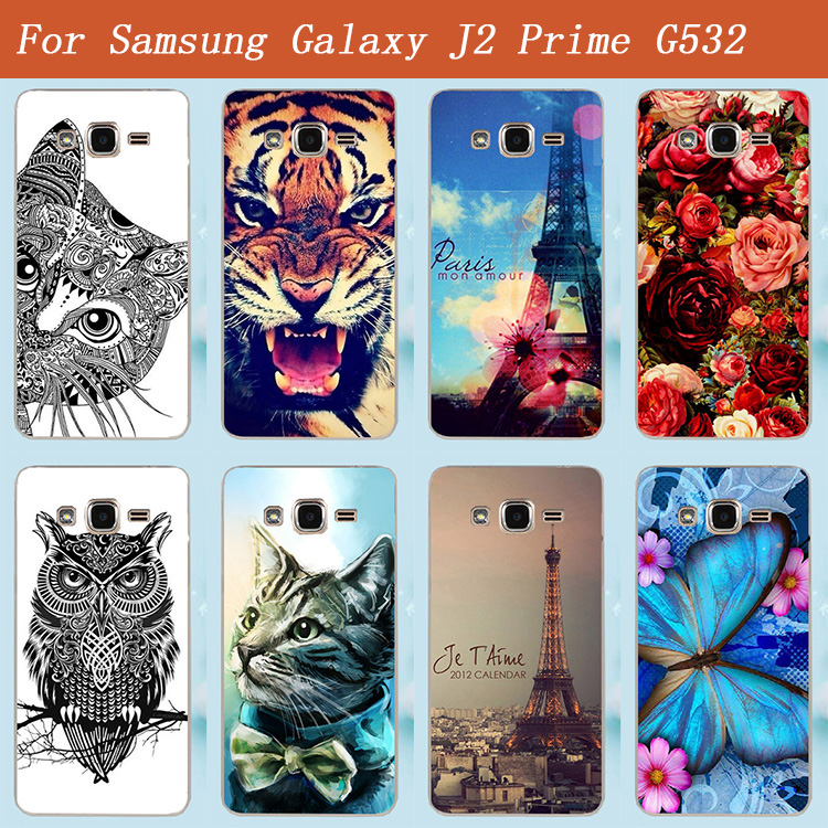 Hot Sale Hard Back Covers For Samsung Galaxy J2 Prime G532 Case Wholse Price DIY Painting Cases FOR Samsung J2 Prime G532