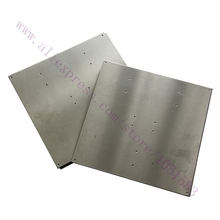 Hot Bed Heating Aluminum plate 220x220x2mm for heatbed MK2B/MK2A of 3D printer,Reprap, Mendel Free Shipping