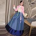 2017 Женщин Высокого Качества Старинные Ретро Японские Кимоно Юката Корейский Традиционный Наряд Ханбок Одежда