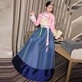 2017 Women High Quality Vintage Retro Japanese Kimonos Yukata Korean Traditional Dress Hanbok Clothing