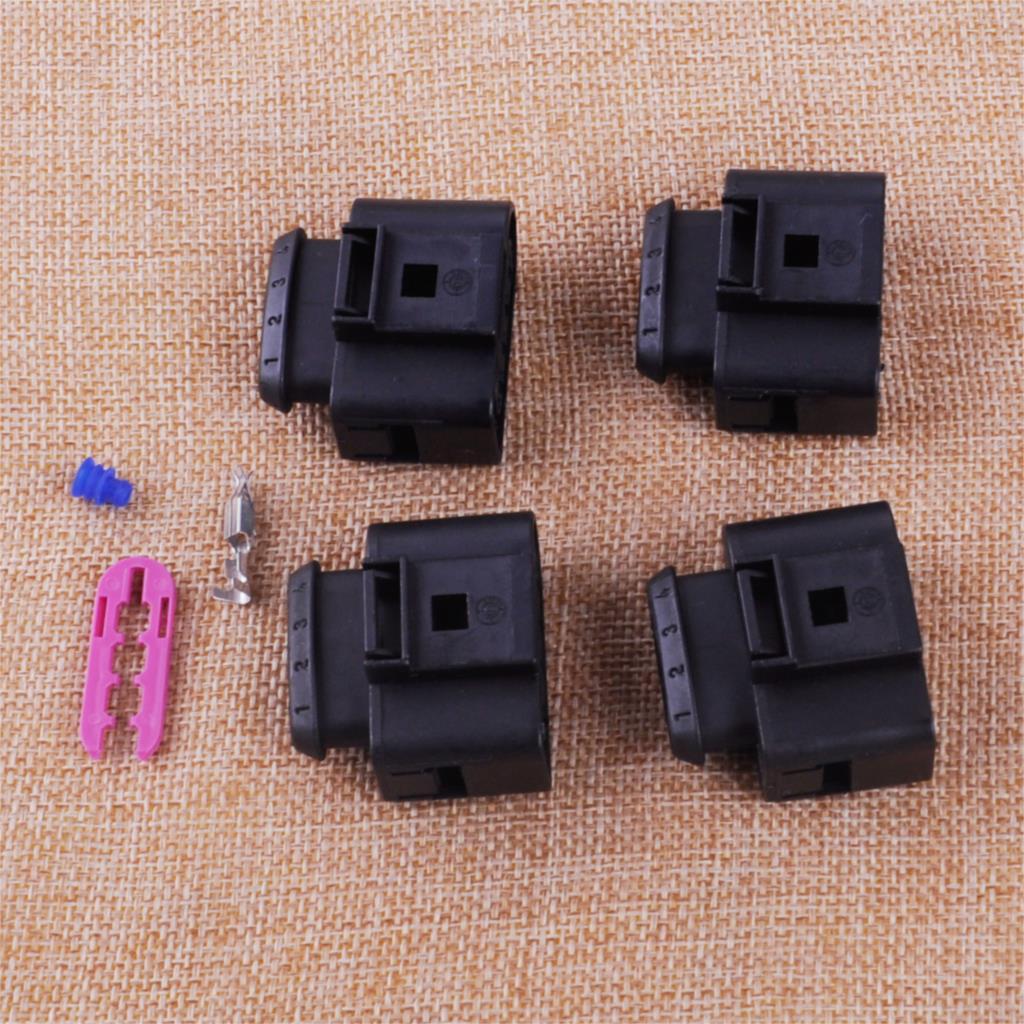 CITALL 4PCS/set Ignition Coil Connector Repair Kit IC39 Plug Fit For Audi A4 A6 A8 VW Golf Passat Jetta Polo Touran Touareg