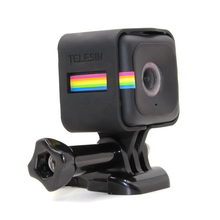 Housing Frame Protective Case Tripod Mount with Adapter for Polaroid Cube+/ Cube Action Camera Accessory