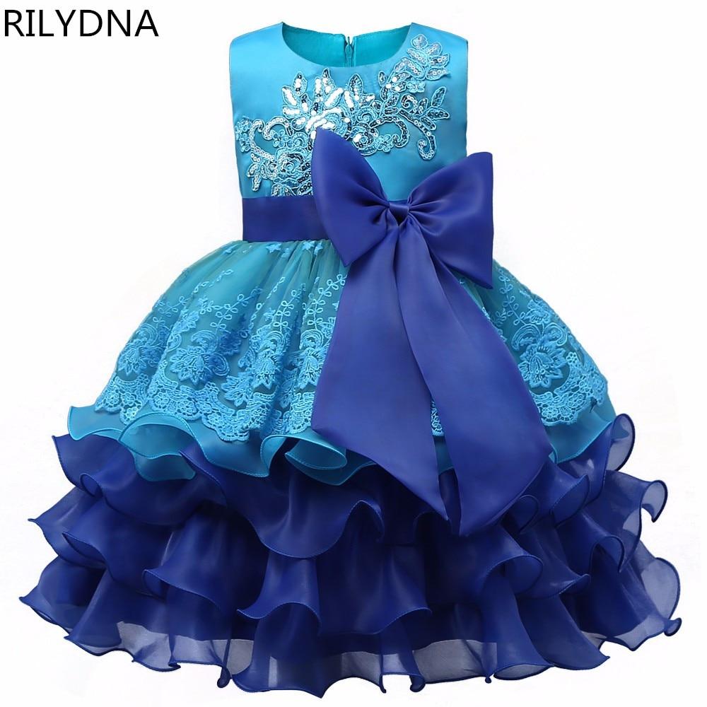 Blue   Flower     Girl     Dress   Kids Ball Gowns First Communion   Dresses   Pageant   Girls   Glitz Scoop Sleeveless Floor length Tulle