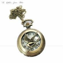 Часы Мода Подарок мужские Карманные Часы 2017 Новый Хорошее Качество Птица Форма Карманные Кварцевые Брелок Часы брелок Подвеска Gifts1213d40