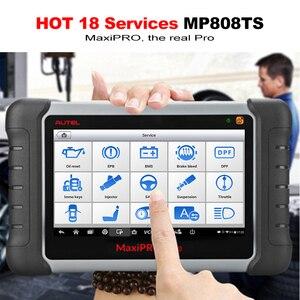Image 3 - Autel MaxiPRO MP808TS אבחון כלי רכב סורק Bluetooth WIFI TPMS כלי מתכנת חיישן PK MK808 MK808TS AP200