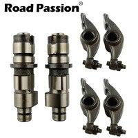 Road Passion Motorcycle Camshafts + Rocker Arm For Yamaha XV250 XV 250 Virago/V Star 1988 2010 XV125 125