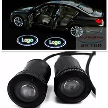 Jingxiangfeng чехол для Audi чехол для BMW чехол для VW водить автомобиль логотип Подсветка салона Добро пожаловать Дверь Призрак Тень Лампы для мотоциклов 12 В