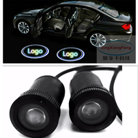 Car Logo LED Welcome Door Light 3D For Audi For BMW For Mercedes For V W