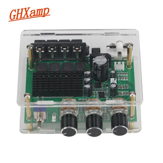 GHXAMP TPA3116D2 80W*2 Stereo Amplifier Audio Board TPA3116 Digital Amplifier Sound Preamplifier Tone High Power DC12-24V 1PC