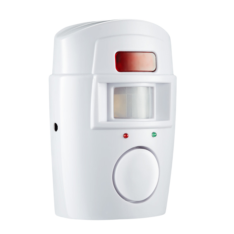 Image 2 - Home Security PIR MP Alert Infrared Sensor Anti theft Motion Detector Alarm Monitor Wireless Alarm system+2 remote controller-in Alarm System Kits from Security & Protection